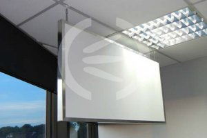 absorbent acoustic baffle
