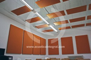 Absorbent treatment in classrooms and offices.