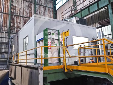 Acoustic Rest Booth For Industrial Plant