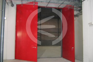 Large fireproof acoustic door - RS5F-XL - 35 to 46 dB