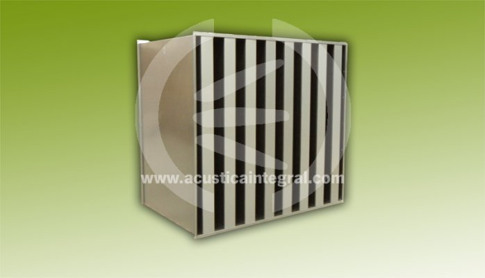 Acoustic silencers and attenuators